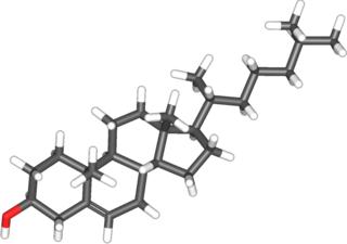 Molécula de colesterol